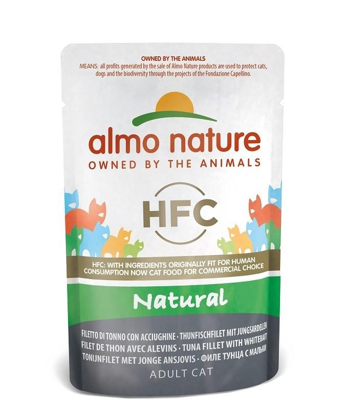 Almo Nature HFC Natural Tonijn & Jonge Ansjovis 55 gram
