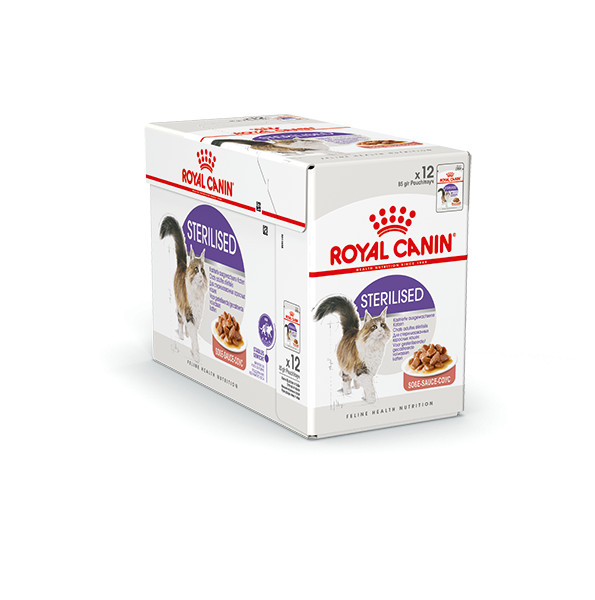Royal Canin Sterilised nat kattenvoer 12 zakjes