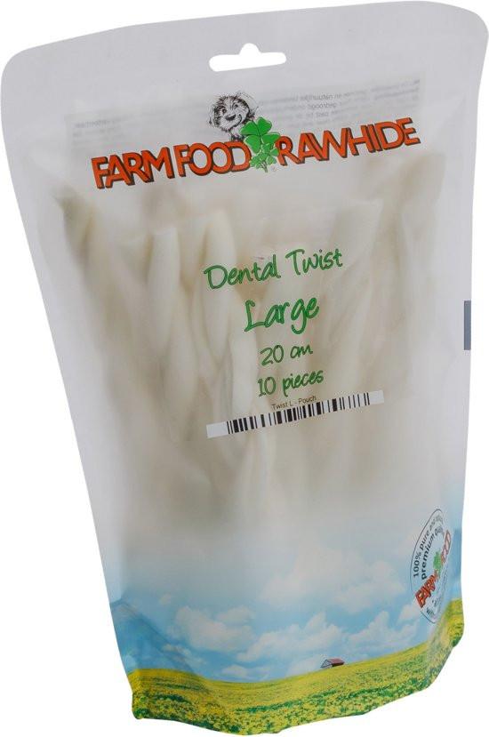 Farm Food Dental Twist L - 20 cm - 10 stuks