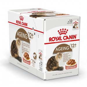 Royal Canin Pouch Ageing +12 kattenvoer x12