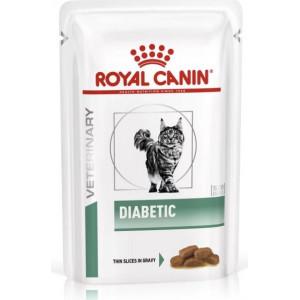 Royal Canin Veterinary Diet Diabetic zakjes 85 gram kattenvoer