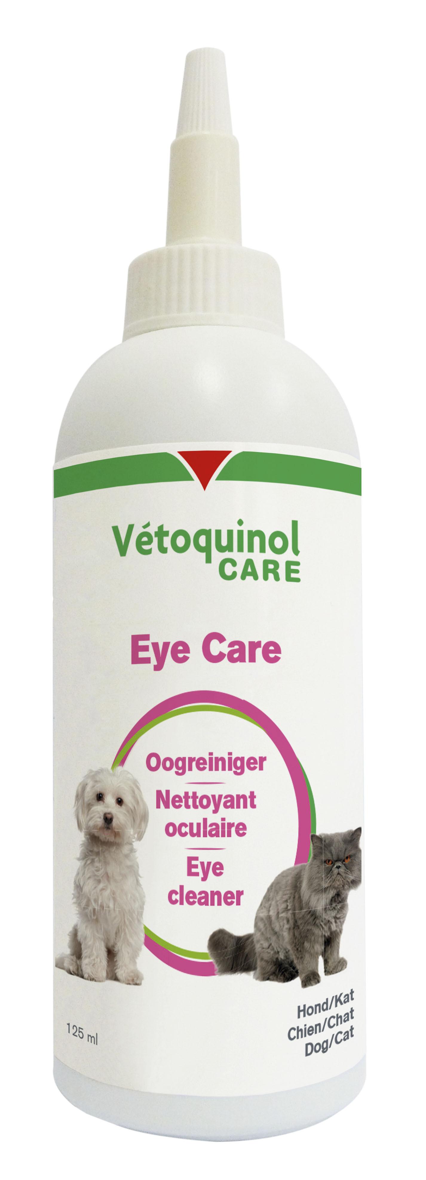 Vétoquinol Care Eye Care Oogreiniger voor hond en kat