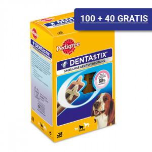 Dentastix Medium hondensnack 10-25 kg Omdoos (28 stuks)