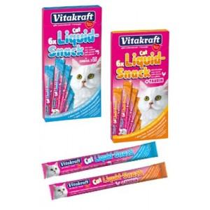 Vitakraft Liquid Snacks kattensnoep Eend