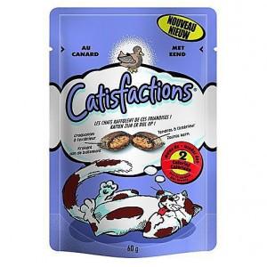 Catisfactions Eend kattensnoep Per verpakking