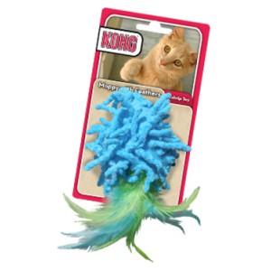 Kong Moppy with Feathers voor de kat Per stuk