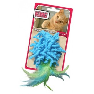 Kong Moppy with Feathers voor de kat