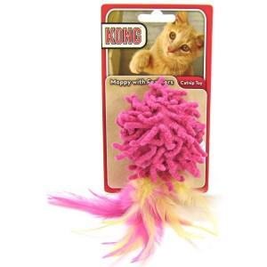 Kong Moppy with Feathers voor de kat