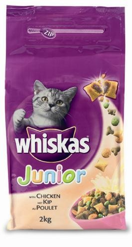 Whiskas Kattenbrokjes Junior