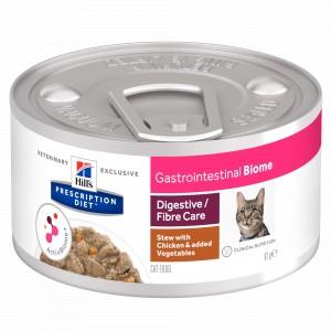 Hill's Gastrointestinal Biome Stoofpotje Kip & Groenten 82g blik kattenvoer
