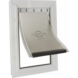 Staywell 640 Large Aluminium Pet Door Per stuk