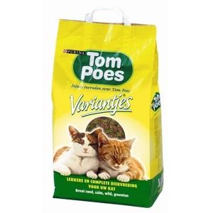 Tom Poes Variantjes kattenvoer