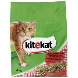 Kitekat rund en groente kattenvoer 4 kg