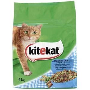 Kitekat vis en groente kattenvoer 4 kg