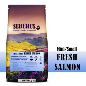 Seberus Mini/Small Fresh Salmon - natuurlijk graanvrij hondenvoer 4 kg