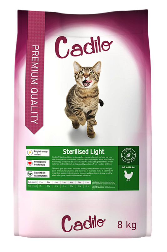 Cadilo Sterilized Light kattenvoer