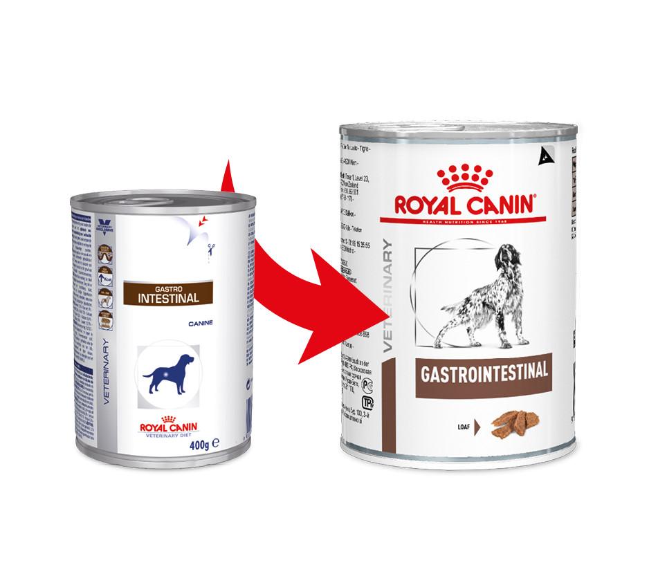 Royal Canin Veterinary Diet Gastro Intestinal blik 400 gr hond