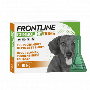 Frontline Combo Spot-On Hond S 2 x 6 pipetten
