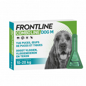 Frontline Combo Spot-On Hond M 3 pipetten