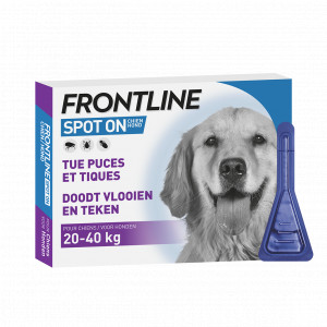 Frontline Spot on Hond L 5 x 3 pipetten