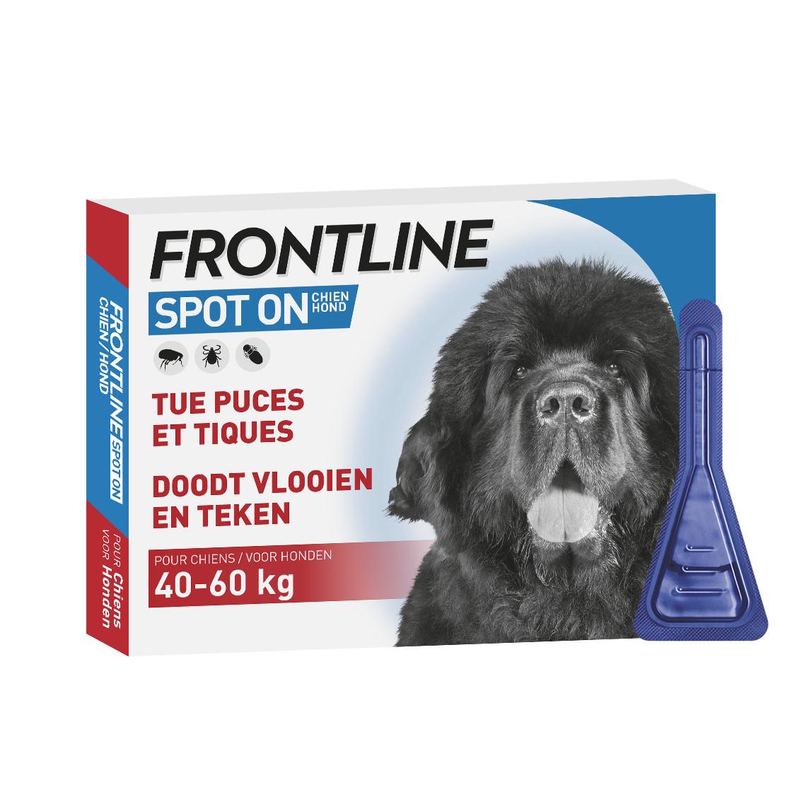 Frontline Spot On hond 40 - 60 kg /  XL