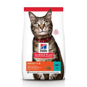 Hill's Adult met tonijn kattenvoer 2 x 10 kg