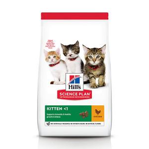 Hill's Kitten kip kattenvoer 1,5 kg
