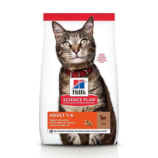 Hill's Optimal Care Adult Lam kattenvoer