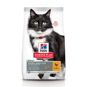 Hill's Sterilised Mature Adult 7+ kattenvoer
