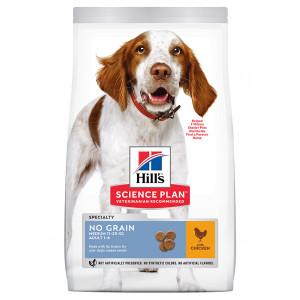 Hill's Adult No Grain Medium met kip hondenvoer 14 kg