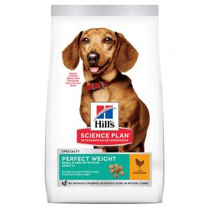 Hill's Adult Mini Perfect Weight Kip hondenvoer 6 kg