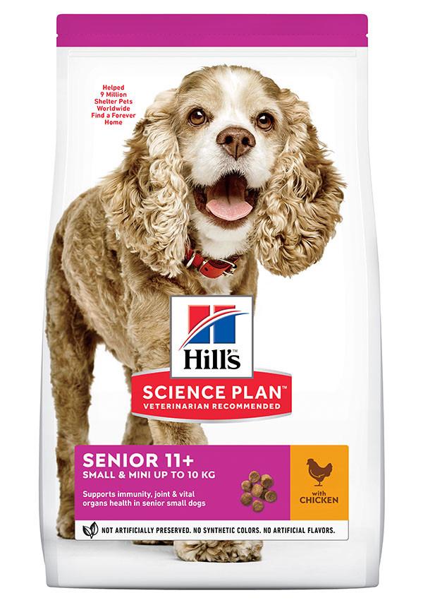 Hill's Senior Small & Mini met kip hondenvoer
