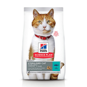 Hill's Young Adult Sterilised Cat tonijn kattenvoer