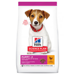 Hill's Puppy Small & Mini kip hondenvoer 3 kg