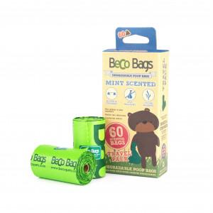 Beco Bags Poepzakjes Mint - 60 stuks