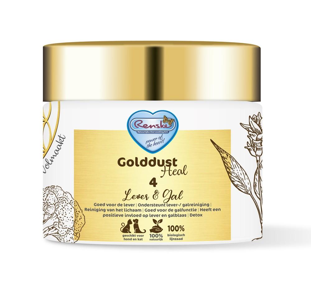 Renske Golddust Heal 4 Lever & Gal - Voedingssupplement