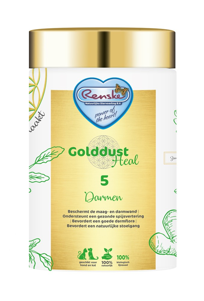 Renske Golddust Heal 5 Darmen - Voedingssupplement