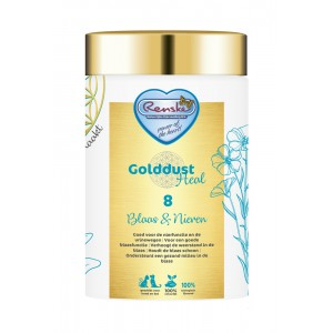 Renske Golddust Heal 8 Blaas & Nieren - Voedingssupplement