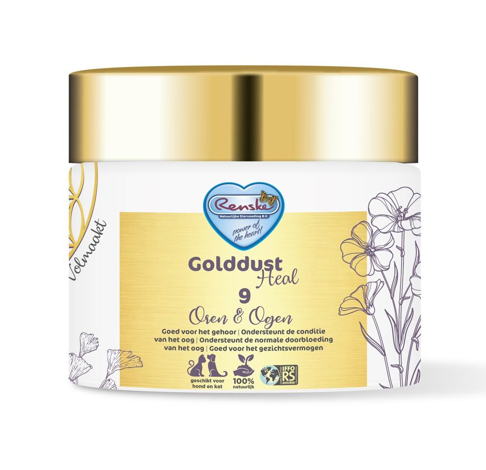 Renske Golddust Heal 9 Oren & Ogen - Voedingssupplement