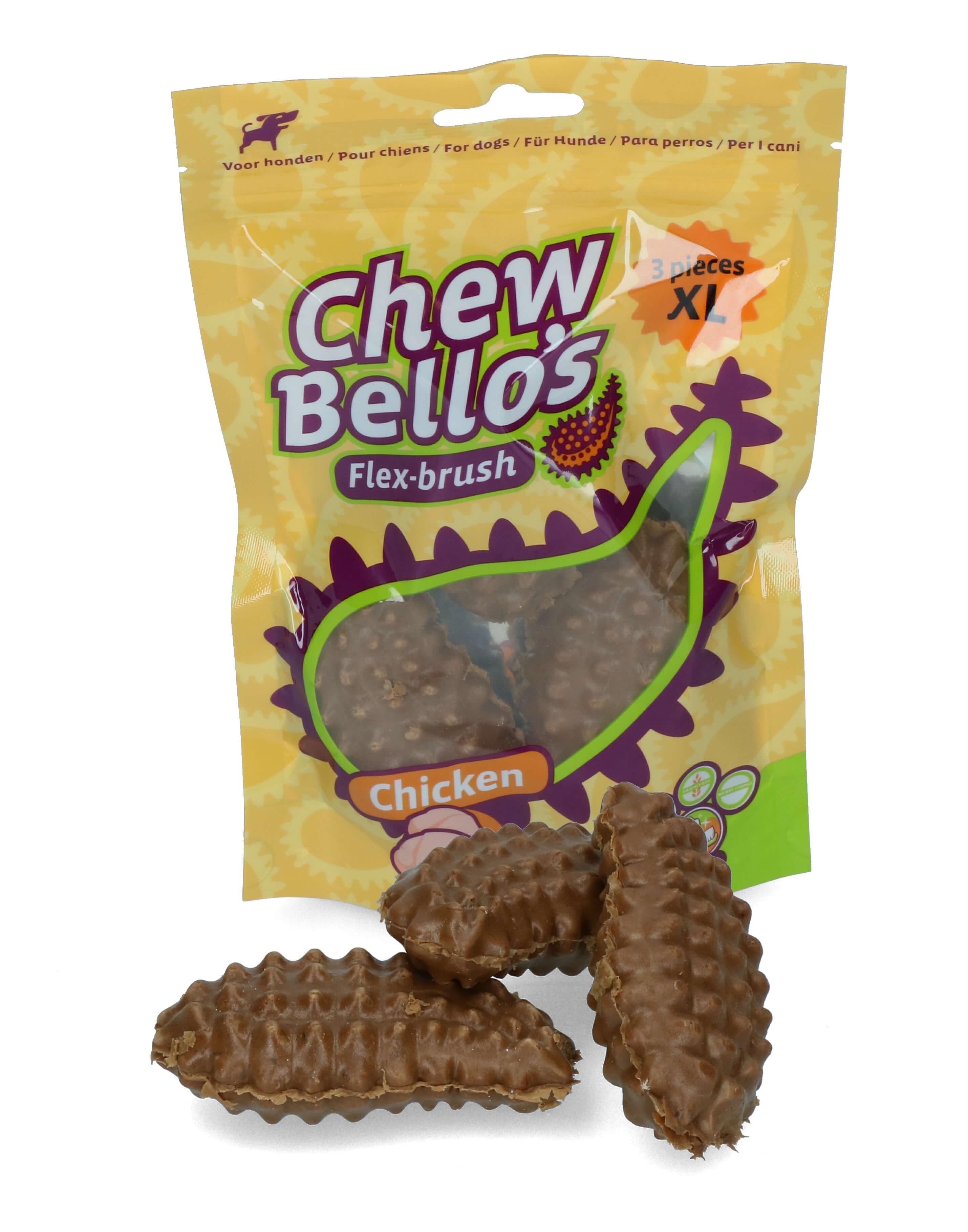 ChewBello's Kip hondensnacks
