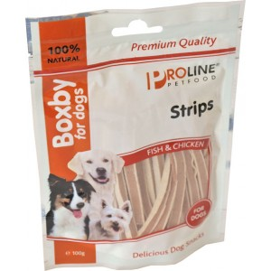 Boxby for dogs Strips 100 gram