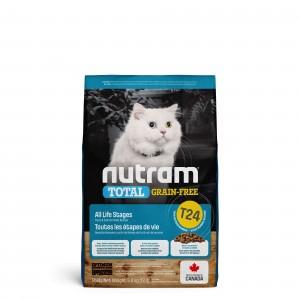 Nutram Graanvrij Zalm & Forel T24 kattenvoer OP is OP