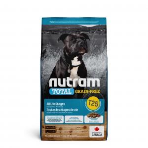 Nutram Graanvrij Zalm & Forel T25 hondenvoer 2 x 11,4 kg