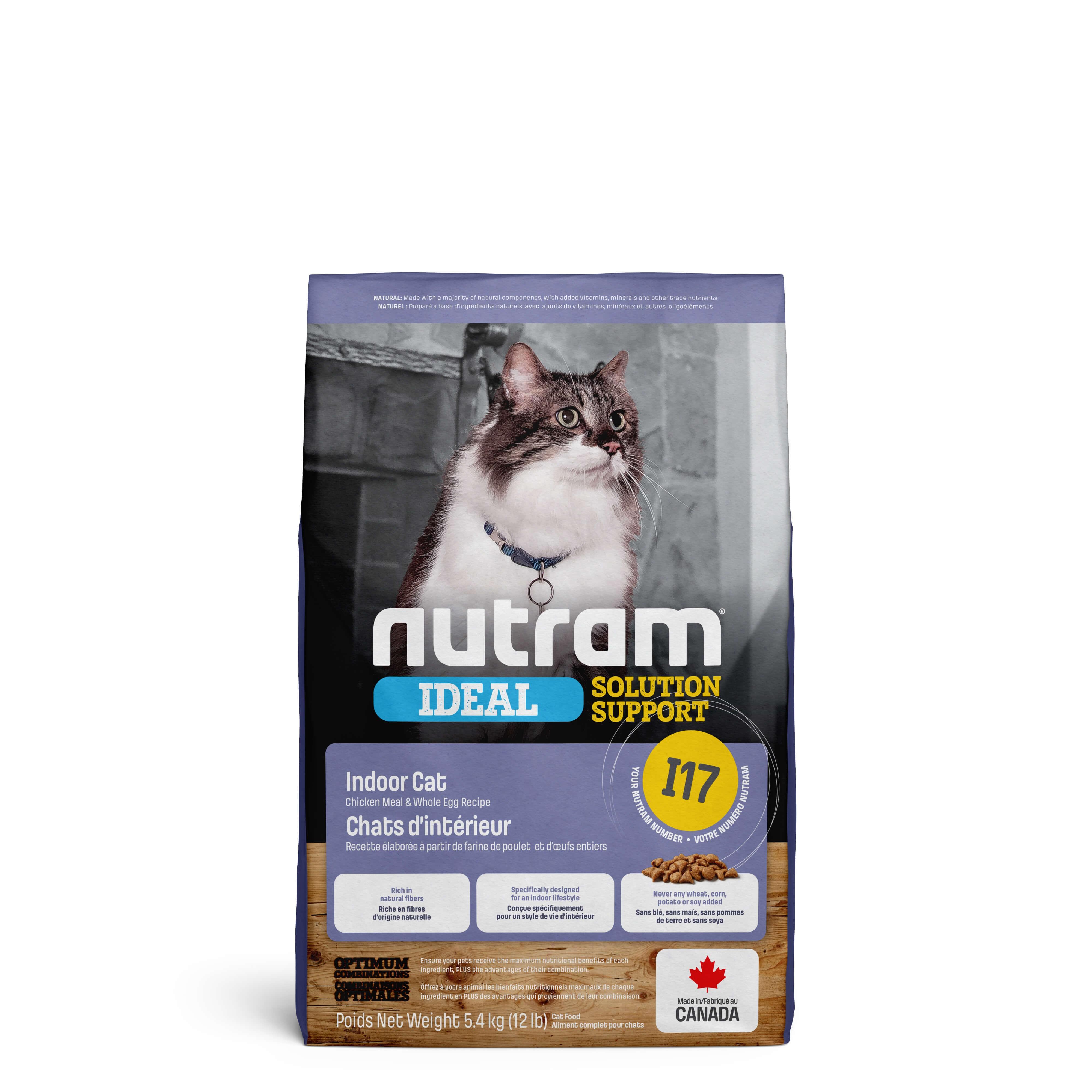 Nutram Ideal Solution Support Indoor Shedding I17 kat OP is OP