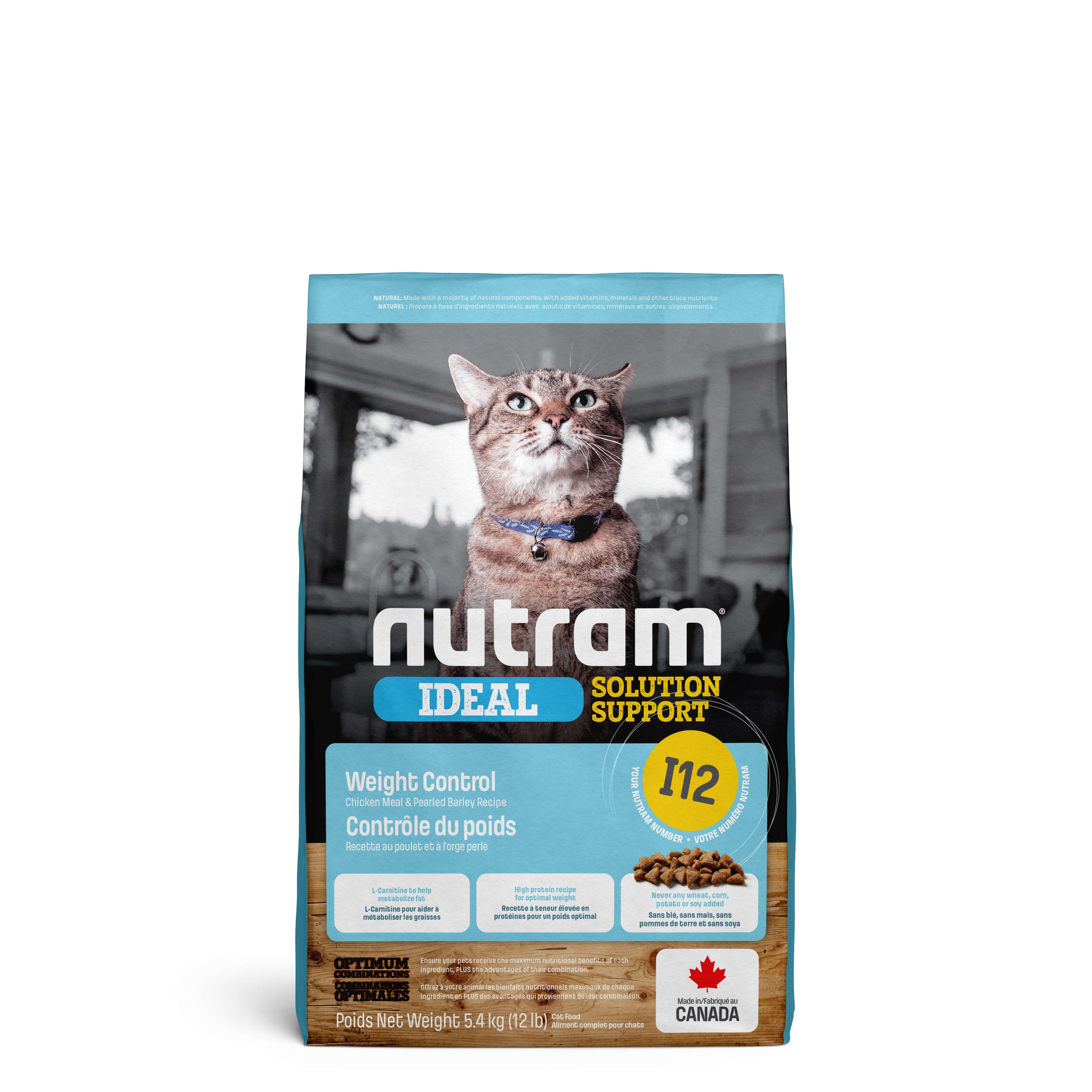 Nutram Ideal Solution Support Weight Control I12 kat