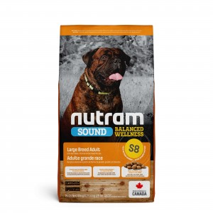 Nutram Sound Balanced Wellness Adult Large Breed S8 hond