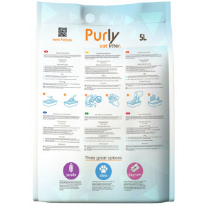 Purly silica kattengrit Baby Powder