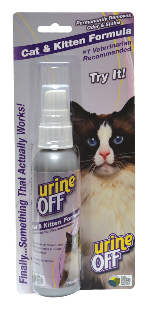 Urine Off Kat & Kitten