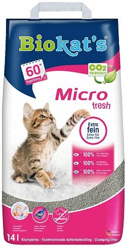 Biokat's Micro Fresh kattengrit