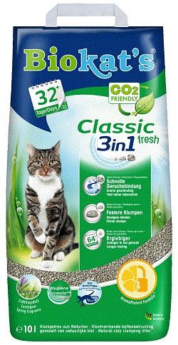 Biokat's Classic Fresh kattengrit